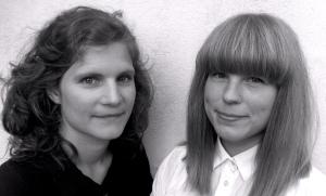 Foto på Hanna Lindahl och Katrin och Katrin Kuniholm.
